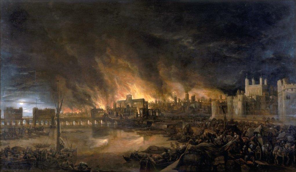 Profezia Nostradamus: Grande incendio di Londra