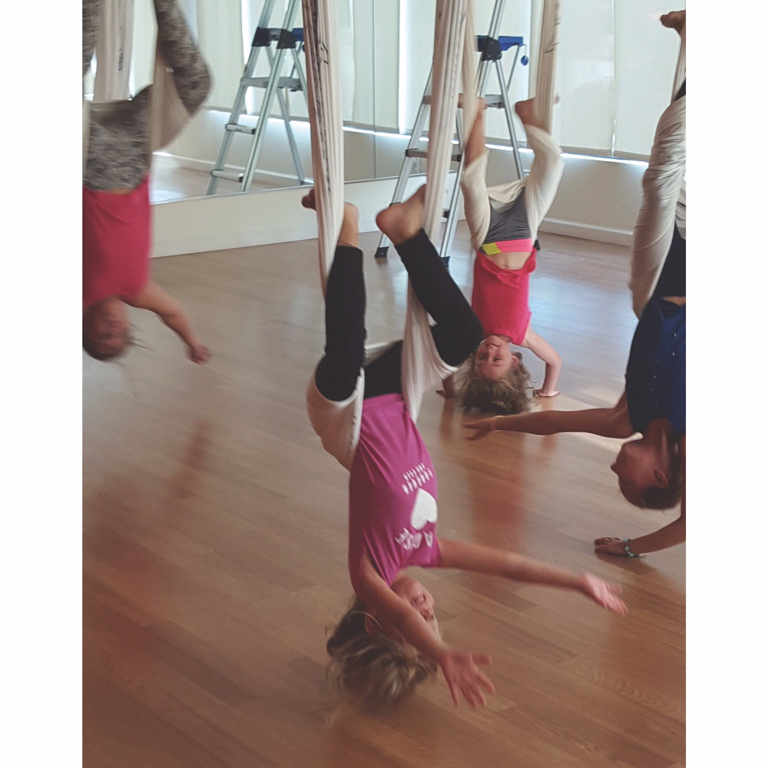 Girl Scouts Nassau On Twitter Way To Go Girls Daisytroop 3060 Earned Their Courageous Strong Petal By Doing Yoga Aerial Poses At Emerge Yoga