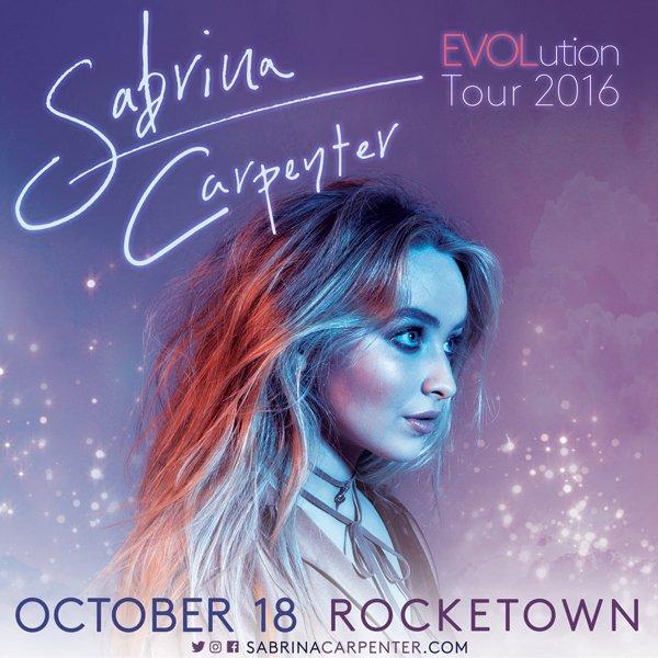 JUST ANNOUNCED! @sabrinannlynn 10/18 @rocketown! Tickets on sale Friday https://t.co/YX7SXxUCUm