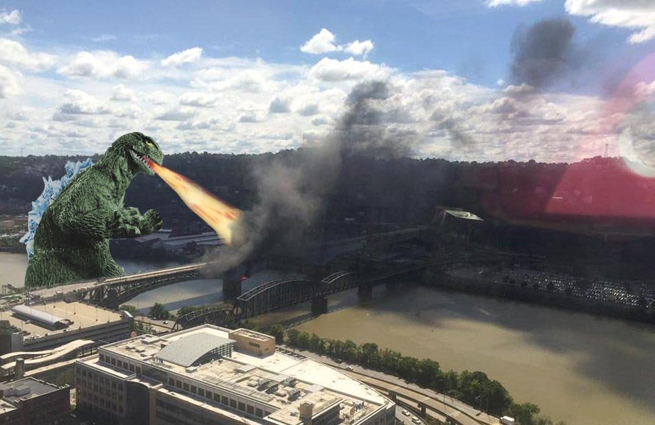 Solved! RT @AltHistories: Don't worry, we figured out what caused the fire on the Liberty Bridge in #Pittsburgh https://t.co/mzNrDpjmij