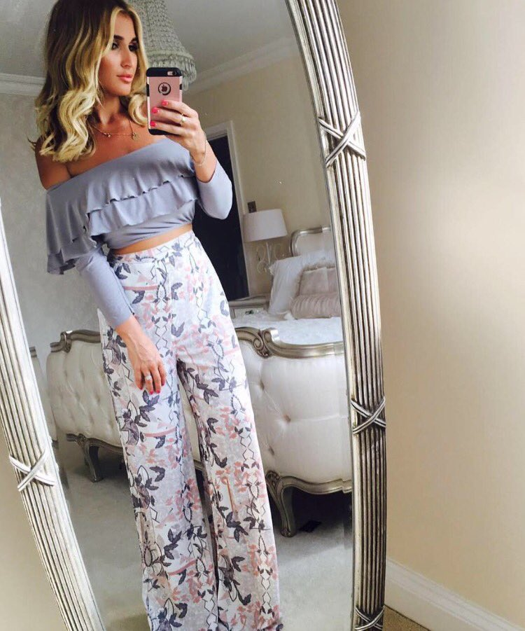 5b65ac892f5 outfit goals billiefaiers looking beaut in the bardot top and palazzo  trousers
