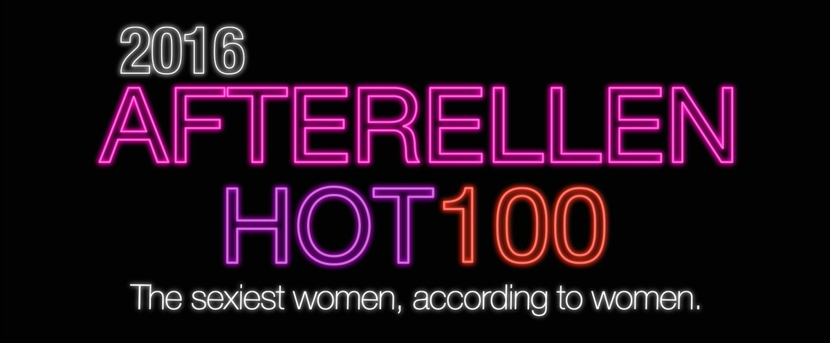 And the 2016 AfterEllen Hot 100 winners are.... https://t.co/20XYgyWv6u https://t.co/OQcbF9memT