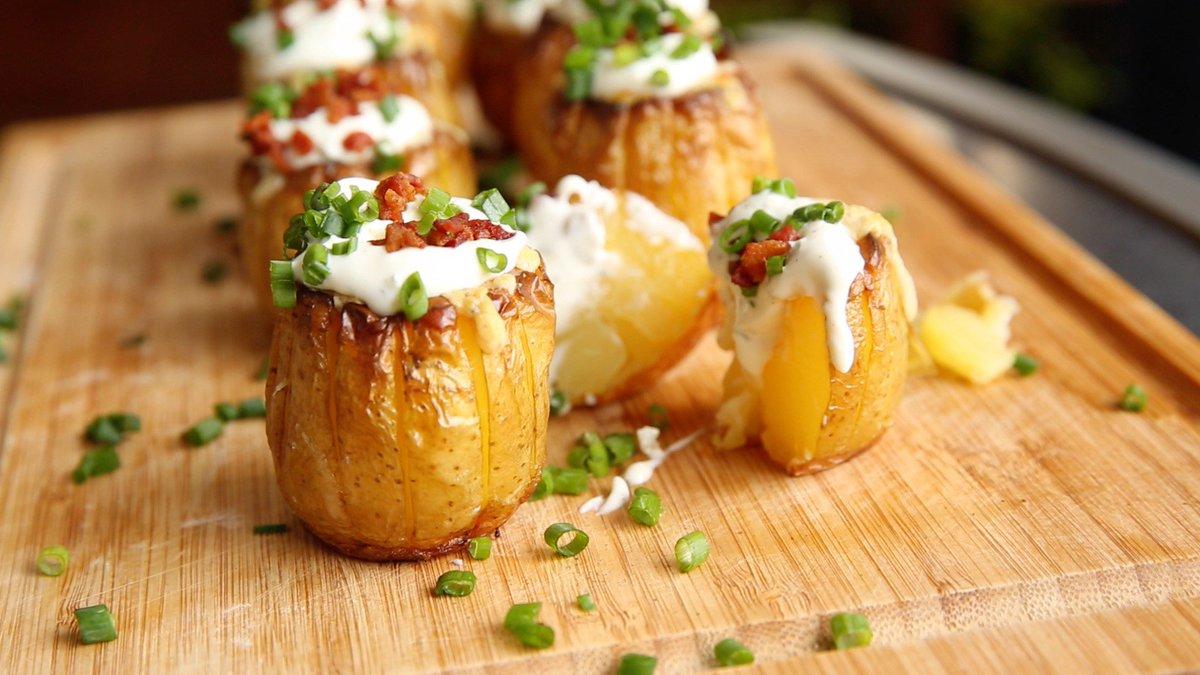 """michael quandt on twitter: """"kartoffel-beilage vom #grill"""
