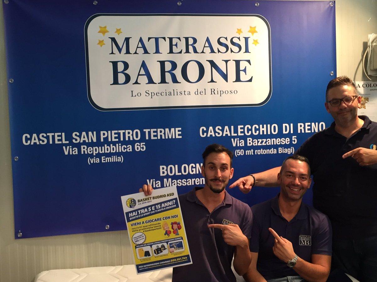 Materassi Barone.Basket Budrio Basketbudrio Twitter