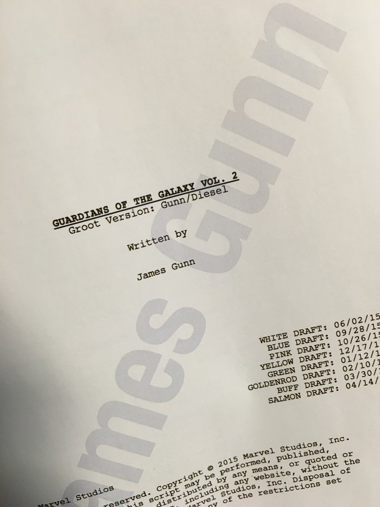 Vin Diesel Has His Own Special Groot Script And He's Been Raving About The New 'Guardians' Footage