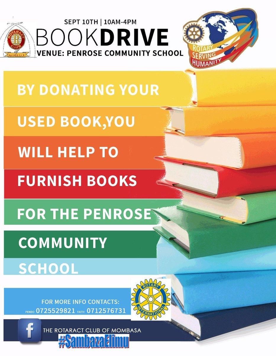 Whre are the old bks u read b4?Help us create libraries 2 schools by donating bks #sambazaelimu @KTNKenya @ntvkenya<br>http://pic.twitter.com/QFsIRbHqFo