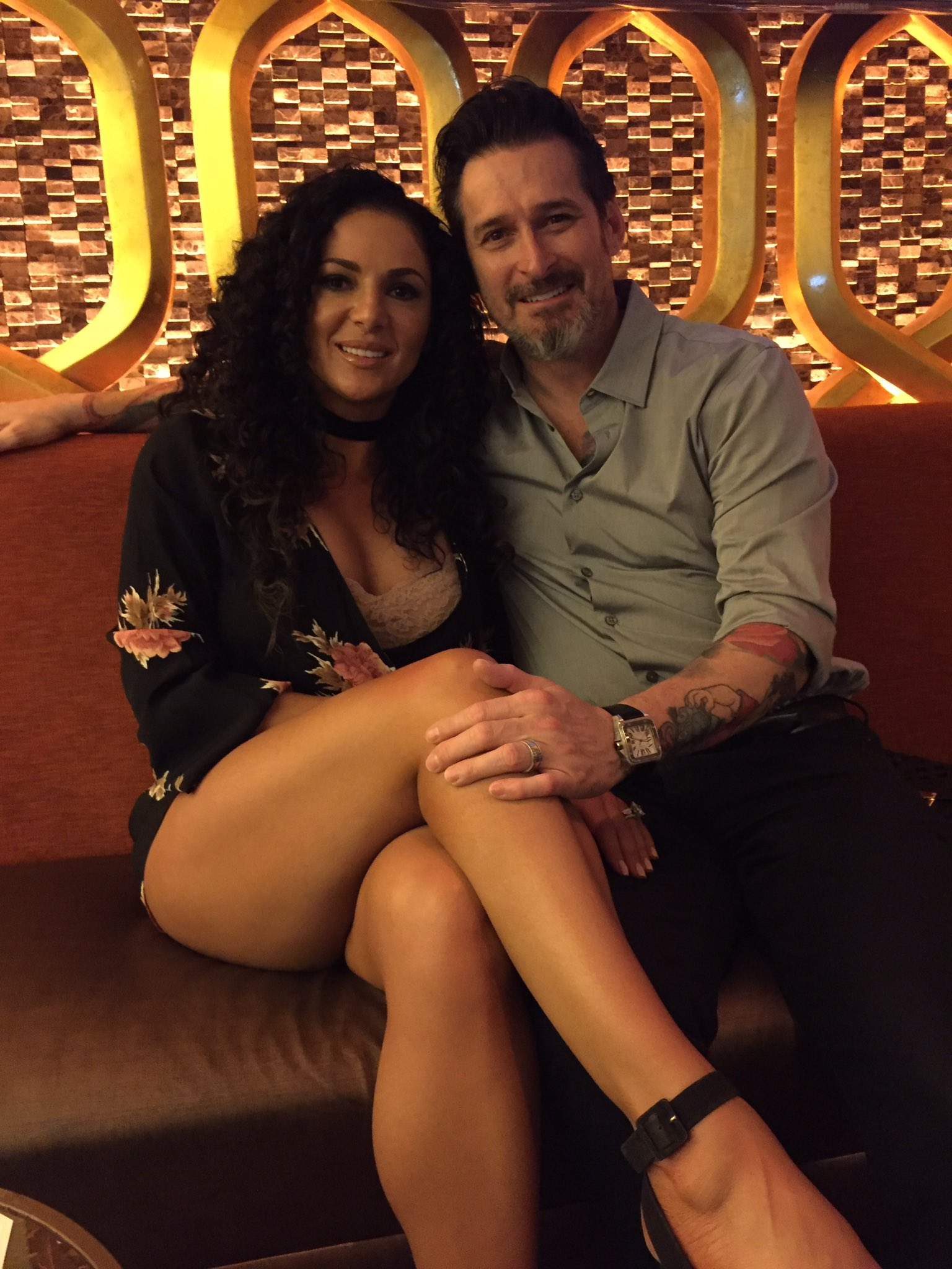 Joey Hamilton on Twitter: And with my sexy wife @lianago