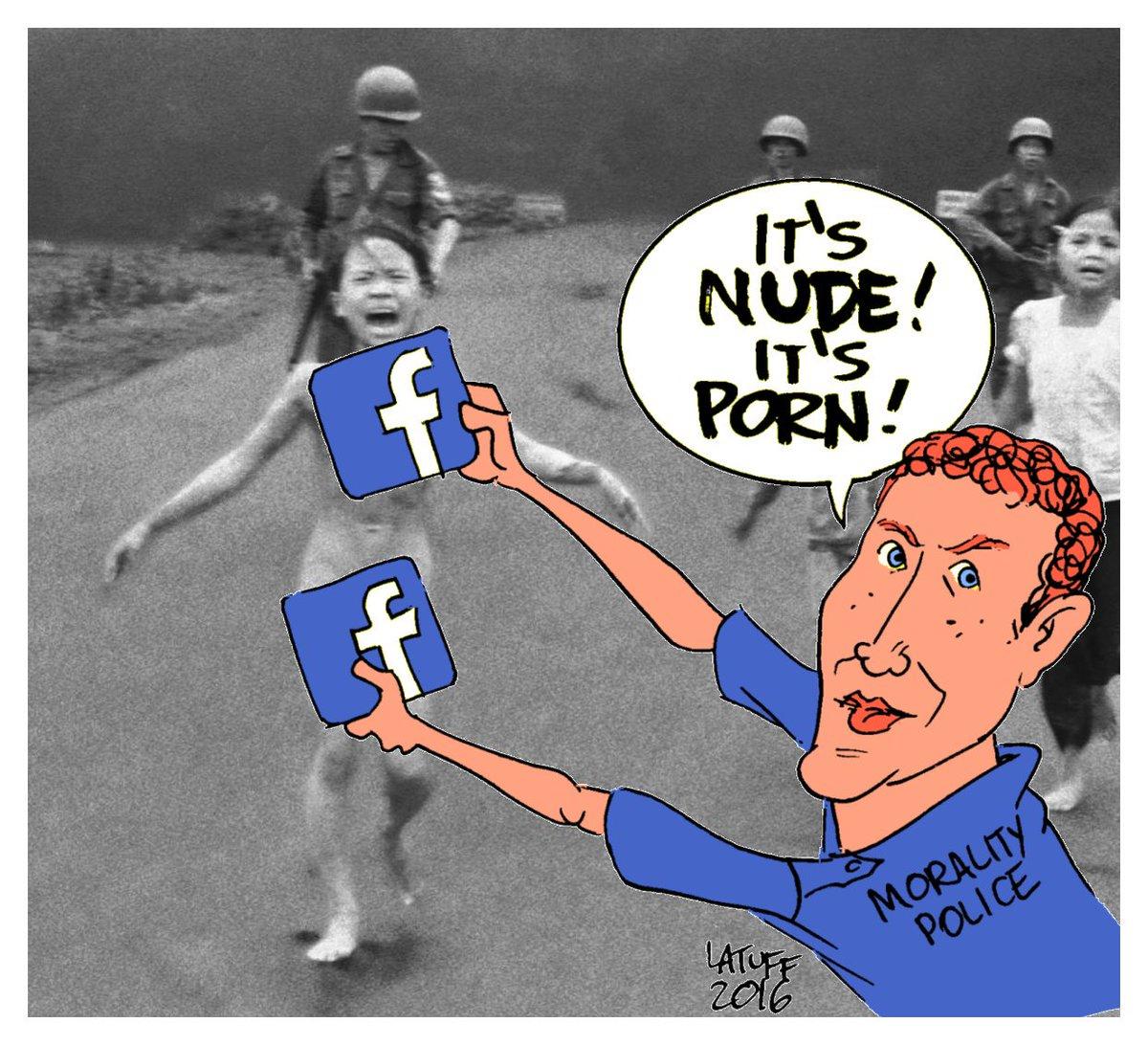 Image result for facebook censorship cartoon