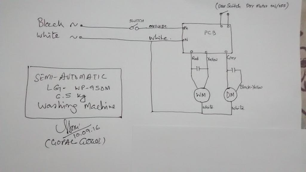 Lg Washer Machine Wiring Diagram washing machine motor ... on washer motor sensor, washer motor control, washer motor transmission, washer motor switch, ignition switch wiring, 3 phase wiring, washer motor parts, washer motor generator,