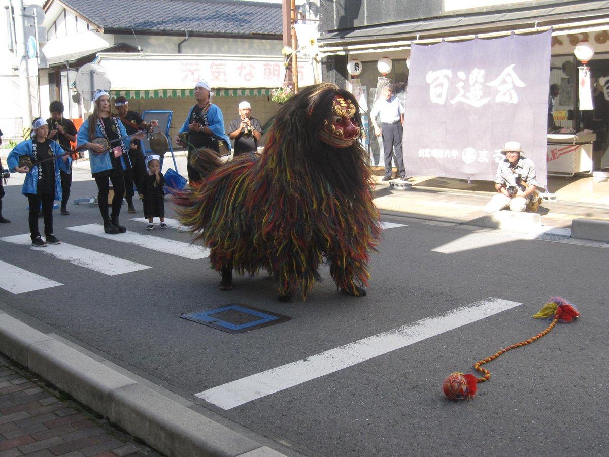 今年は小特集的に「獅子舞」を集めている。沖縄・香港・日本(女川・大船渡)さらにバリのバロン、日本の虎舞まで比較できる。中国にしろバリにしろ、どこにもライオンは生息していない。(写真は左から沖縄、香港、女川、バリ) #三陸国際芸術祭 https://t.co/BVHsC9S4x6