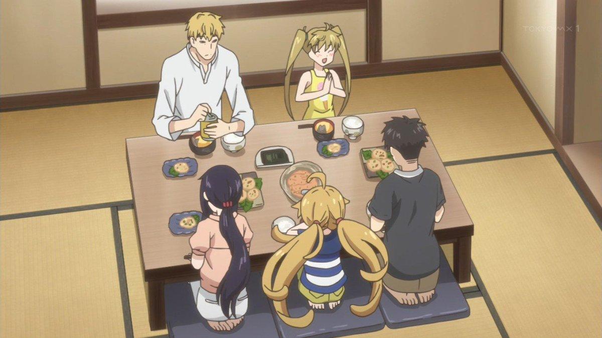 アニメ「甘々と稲妻」は良い。 ヘルシーな和食も食べないとなぁと思わせてくれる。  ちなみに画像の2枚目が今晩の私のぼっちメシになります。 ウマ辛最高~!٩( 'ω' )ﻭ ←