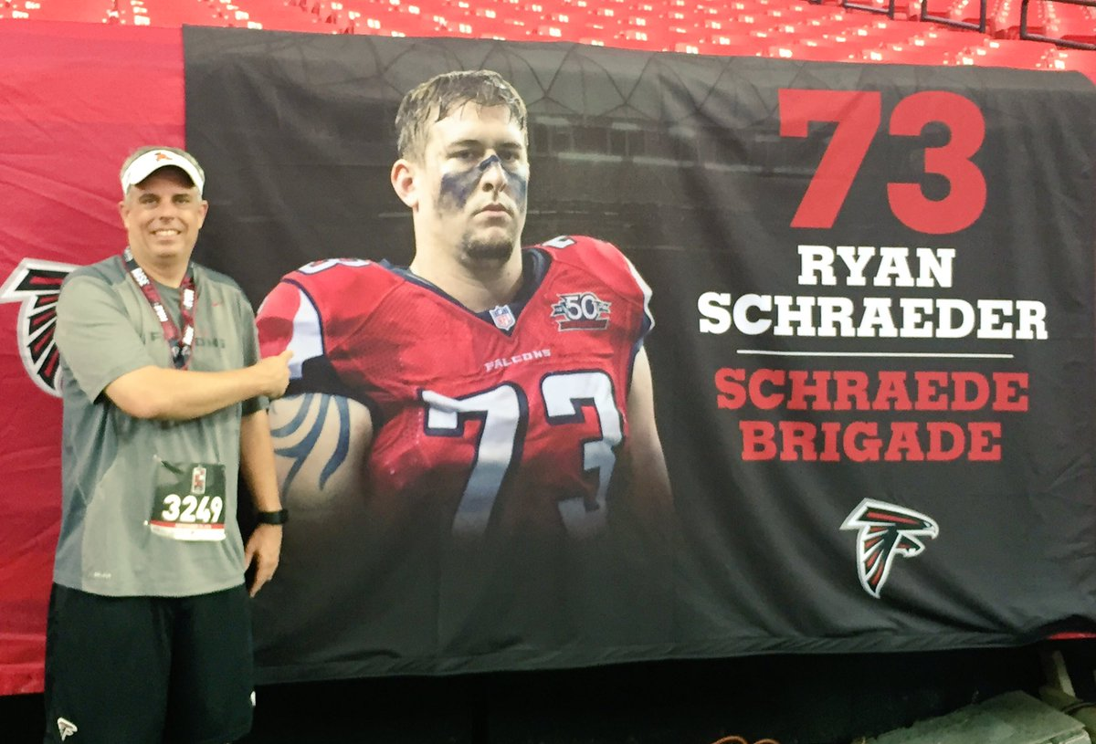 Unsung Hero Ryan Schraeder Talk About the Falcons Falcons