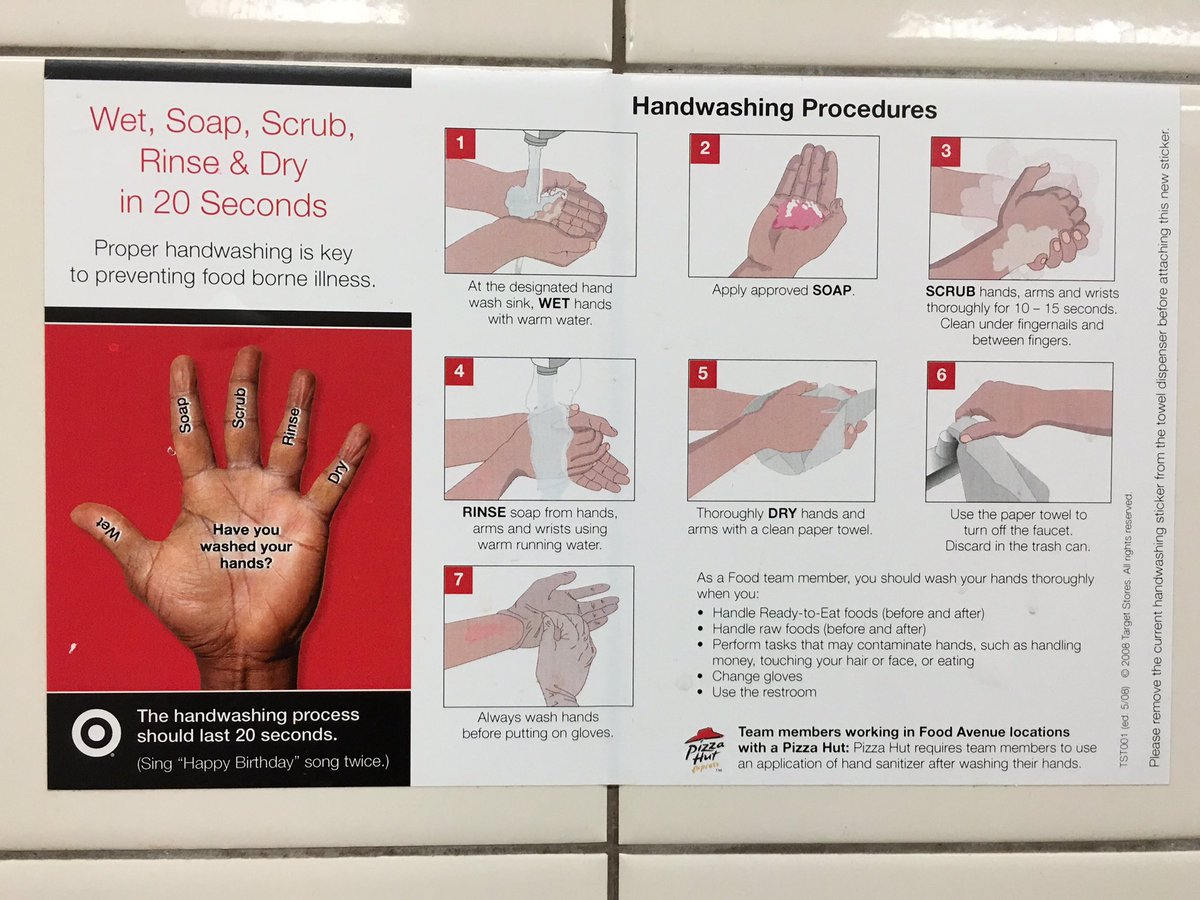 Ben Boyer On Twitter Fascinatingly Elaborate Hand Washing