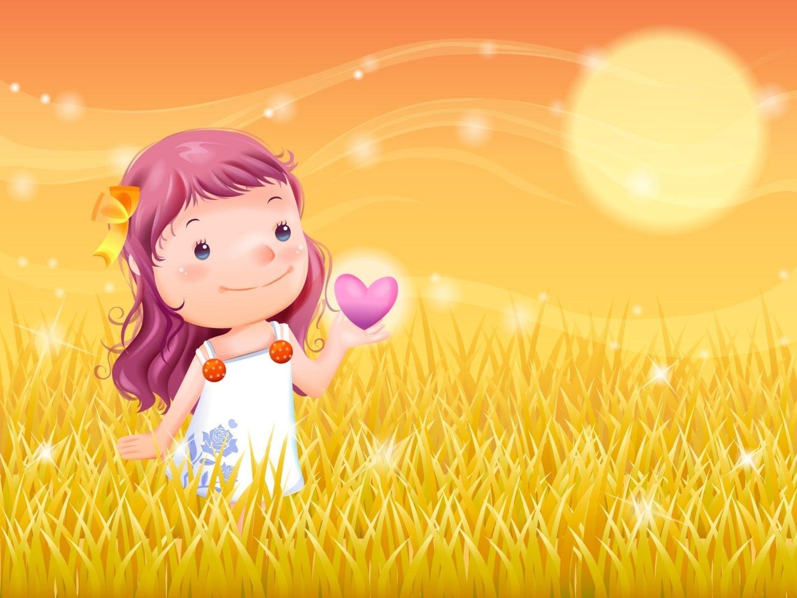 Открытка о любви к детям