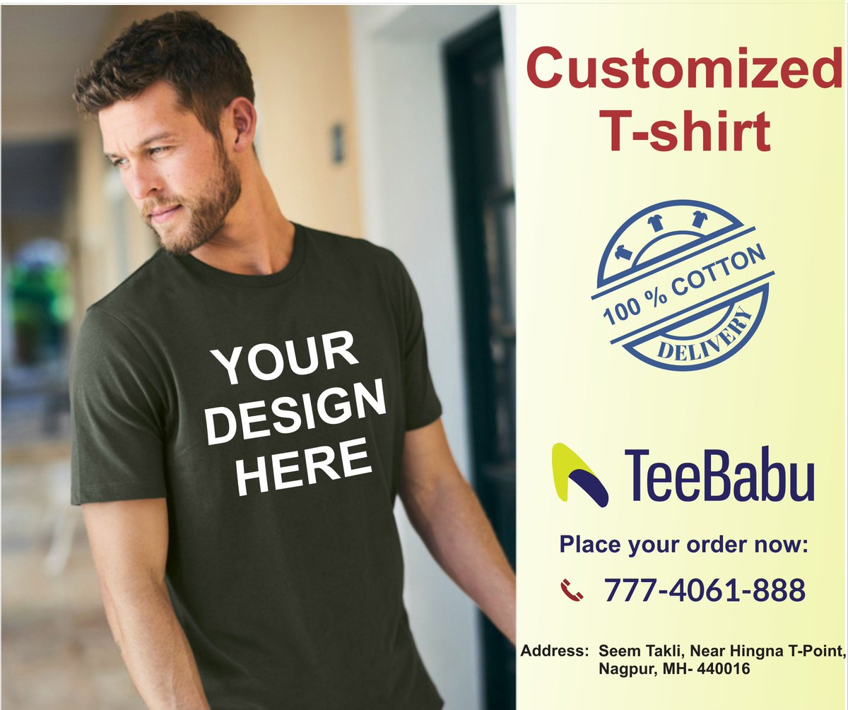 Printbabu On Twitter Get Your Custom Printed T Shirt Best