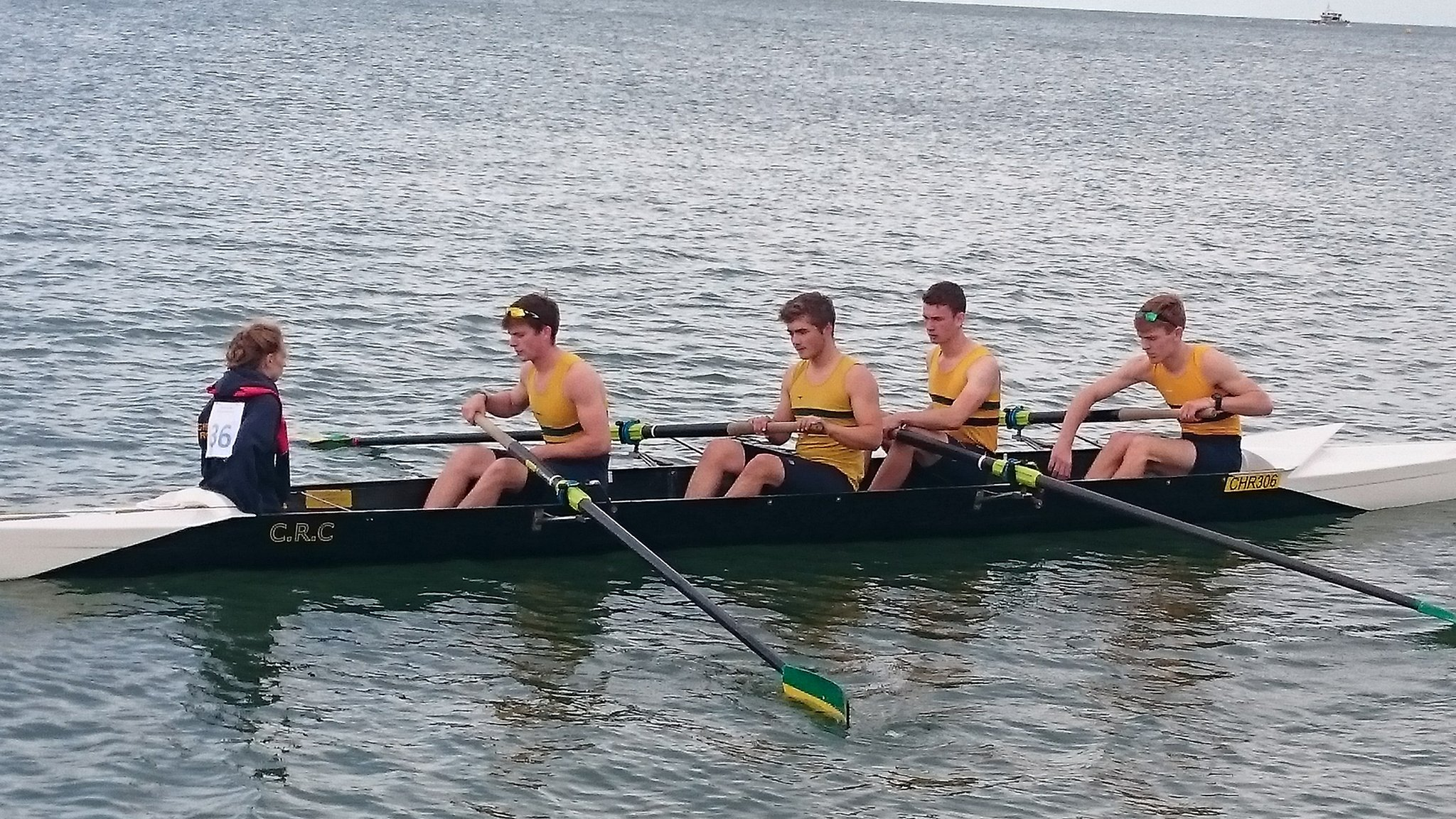 """Christchurch Twitter: Christchurch Rowing On Twitter: """"J/S Crew Heading Out"""