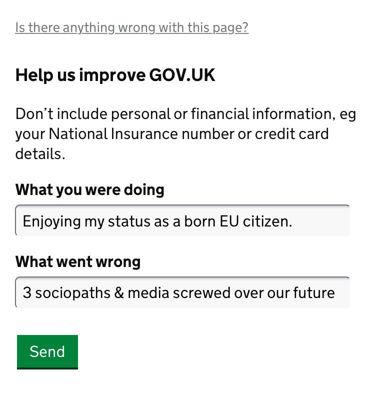Go to @DExEUgov url, scroll down to \