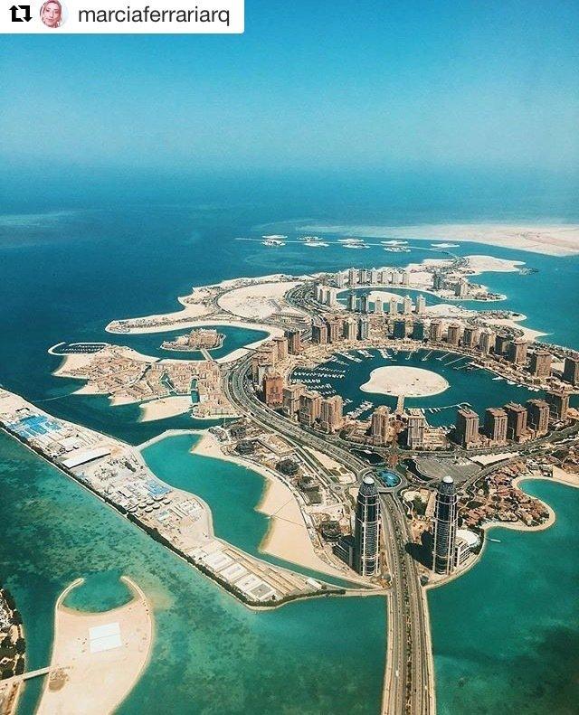 Estupenda vista en Doha, Catar