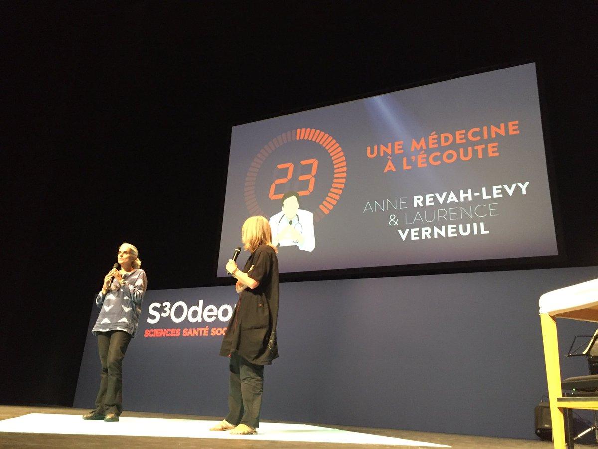 Le médecin en France interrompt le patient après 23 secondes  #S3Odeon d'où recherche Medecine  complémentaire https://t.co/LN14sekOMc