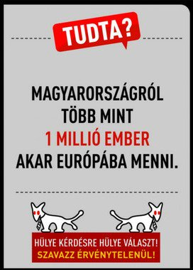 Balazs Cseko On Twitter Hungary S Satire Party Ads More Than 1