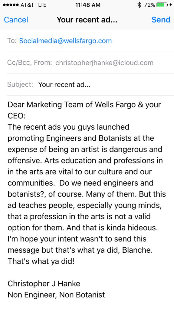 my email to @WellsFargo... https://t.co/UwvshxvIDH