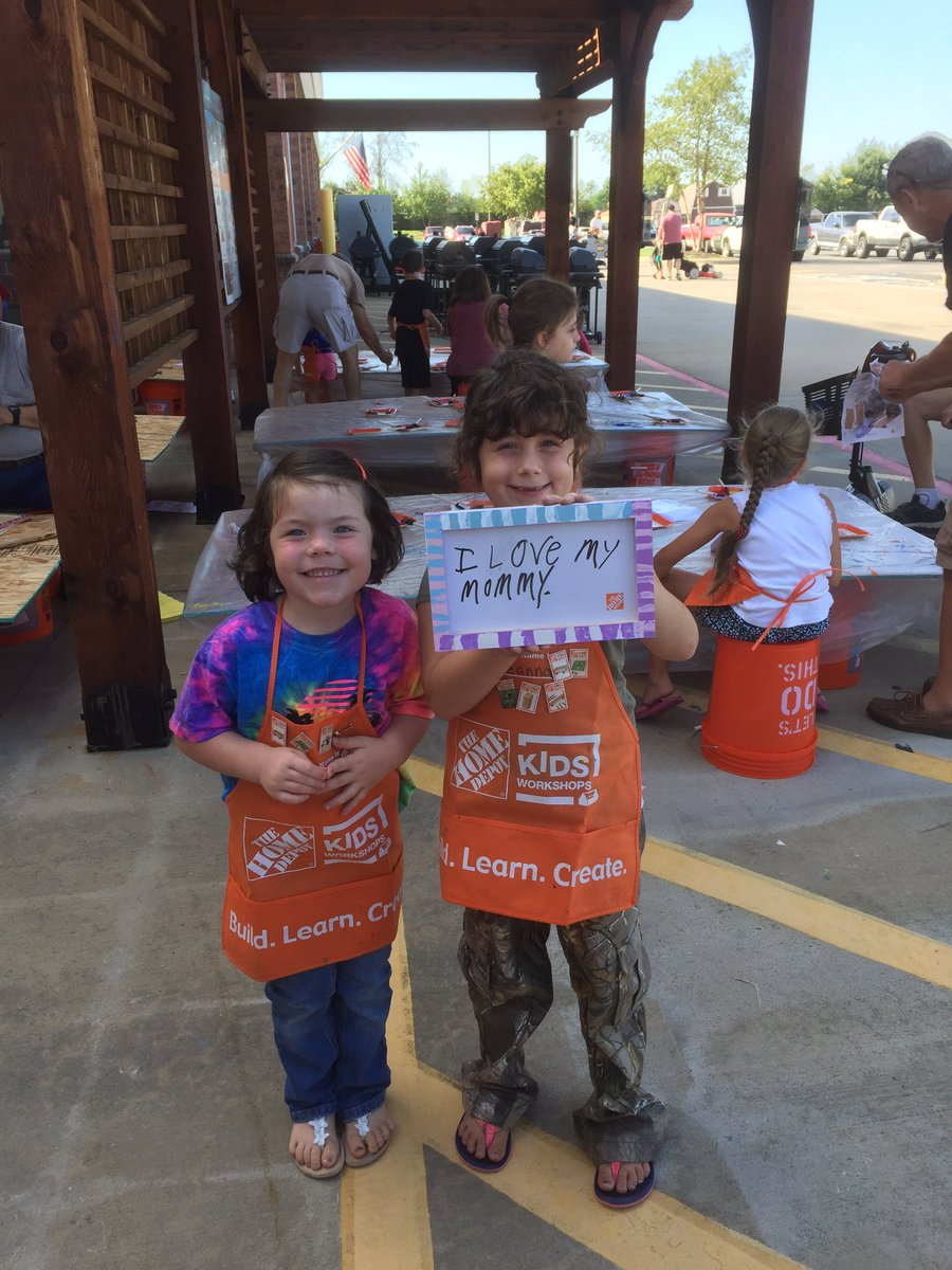 Edward Mary On Twitter Kids Workshop At The Conway Ar Home Depot
