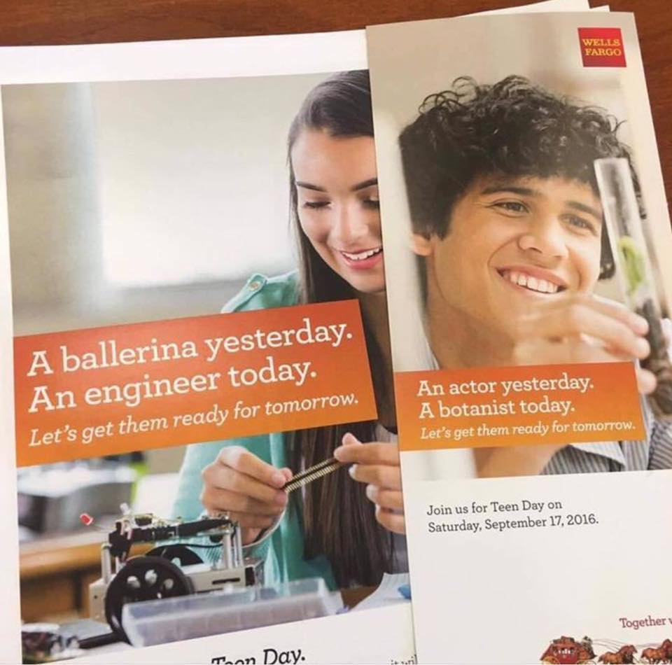 REALLY @WellsFargo? Insensitive/wrong. How about former banker nownovelist? the passion of doing what you love.Shame https://t.co/cug4WmmL4a