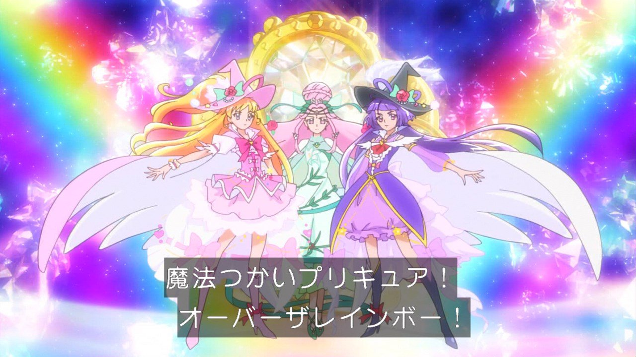 オバレだったのか… #precure #nitiasa https://t.co/qePTfqzv0G