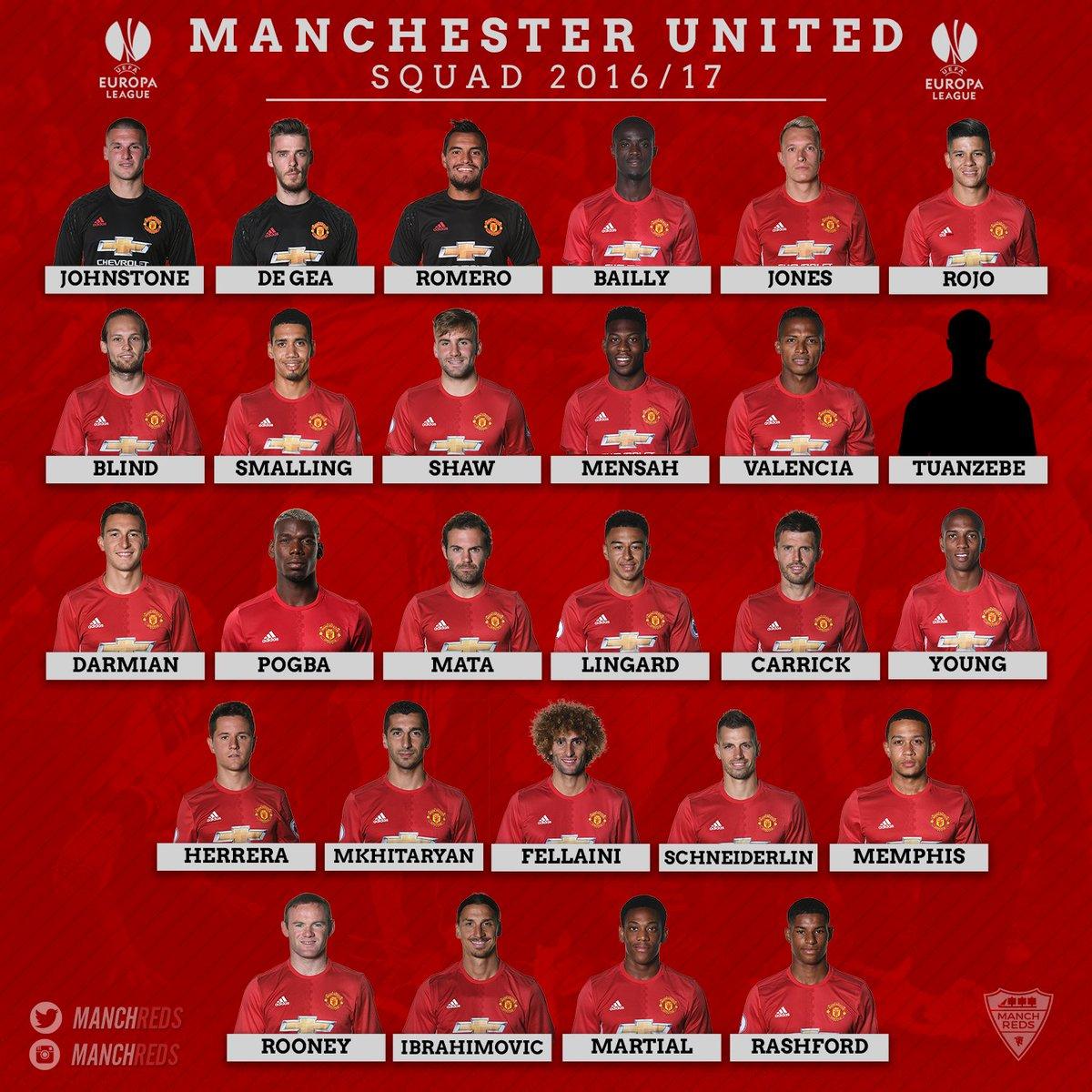 Image result for man utd team photo 2016/17
