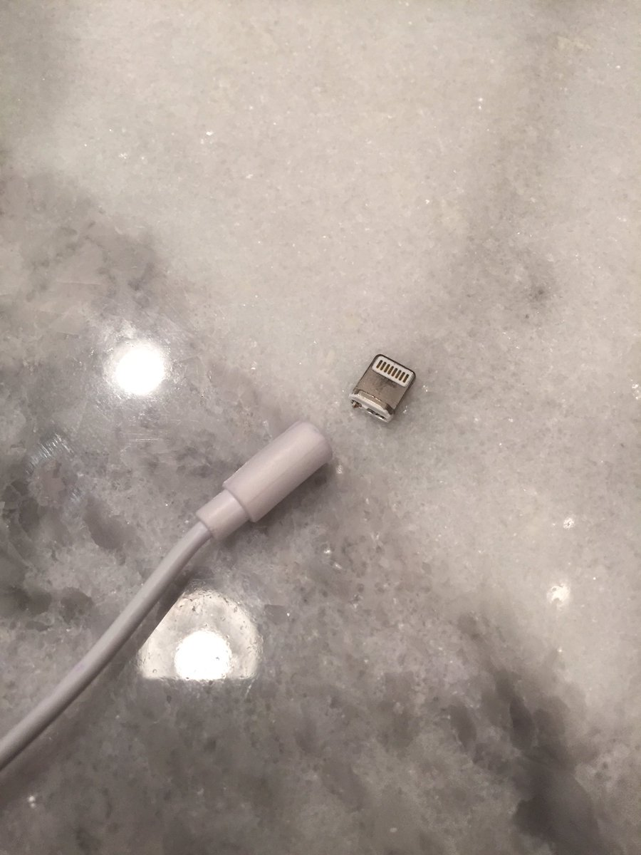 how to fix a broken iphone charger oh another broken iphone charger 20058