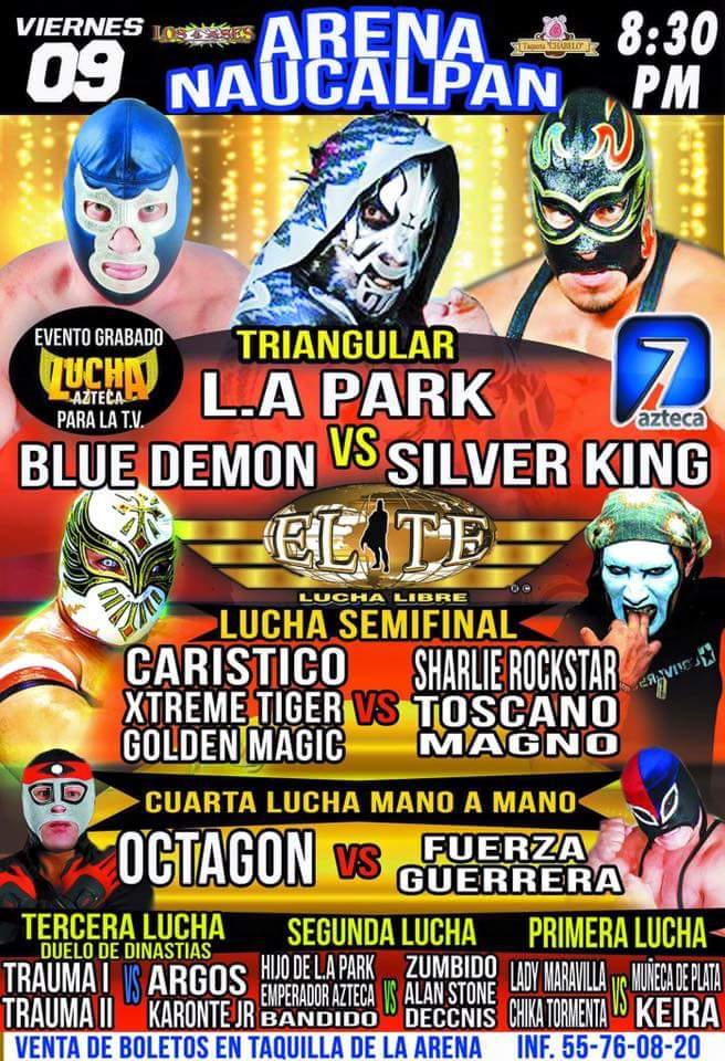 Liga Elite se presenta en la Arena Naucalpan: nueva etapa para la promotora 2