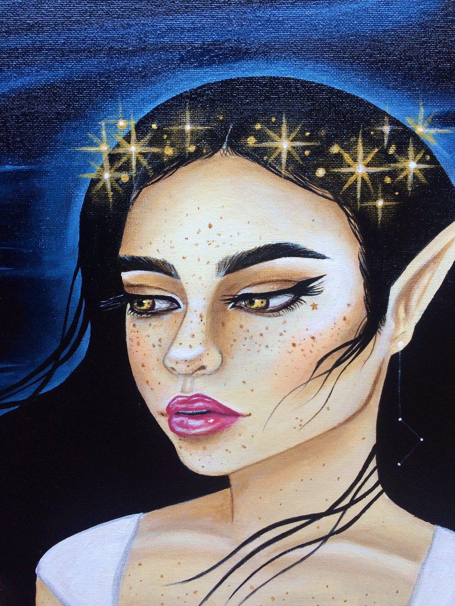 Image result for stars on forehead goddess