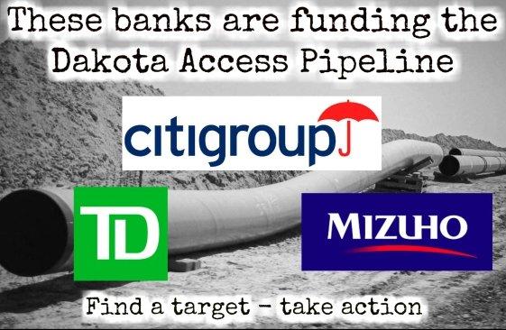 Who is funding the Dakota Access Pipeline? #NoDAPL https://t.co/lWfhKylHef