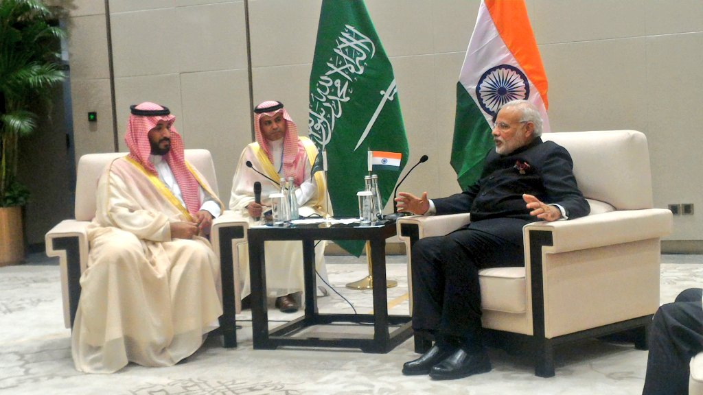 PM Narendra Modi meets Saudi deputy crown prince, talks UNSC, energy coop