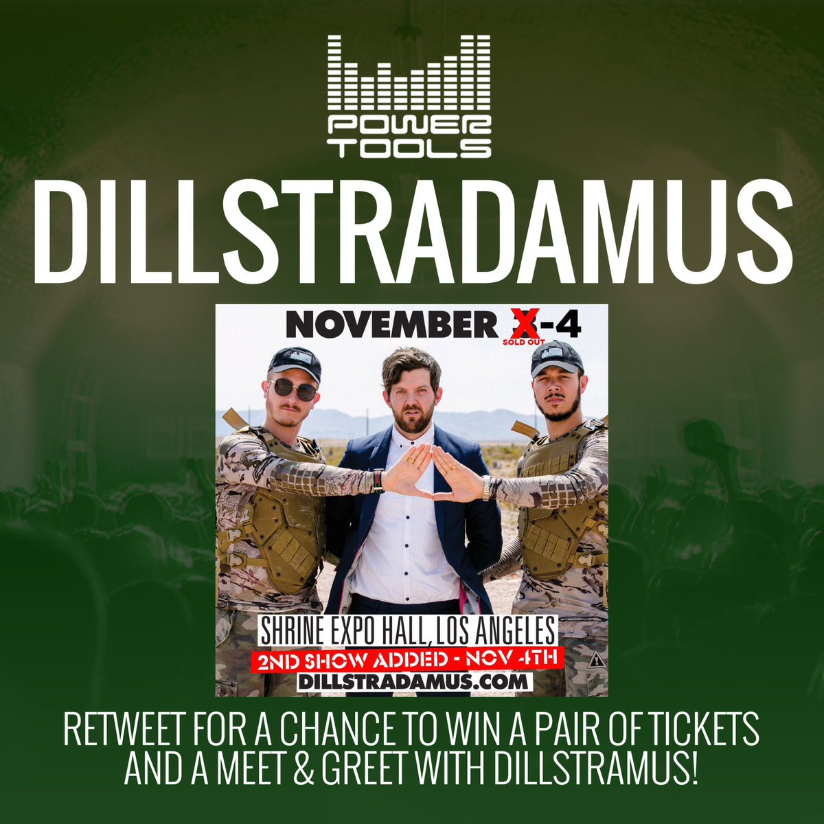 We have tickets to see @DILLONFRANCIS @FLOSSTRADAMUS! Retweet & follow us for a chance to win a pair of tickets! https://t.co/h0QxpPsrEi