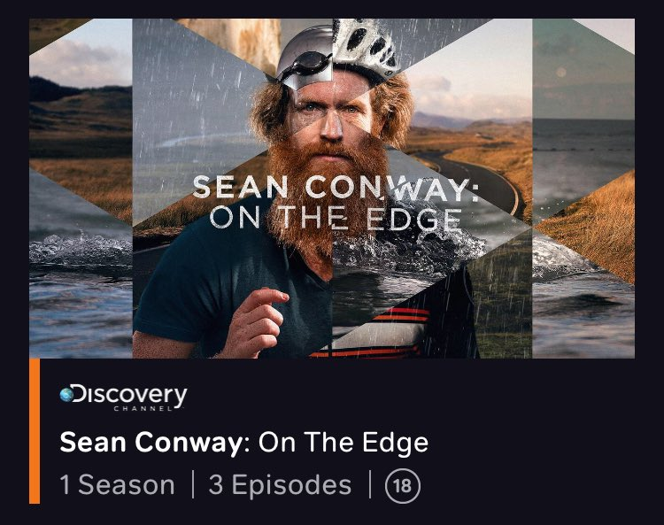 sean conway on the edge stream
