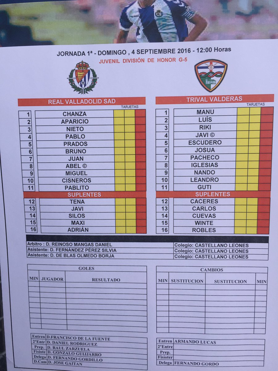Real Valladolid Juvenil A - Temporada 2016/17 - División de Honor Grupo V CrgEm55WAAASnx2
