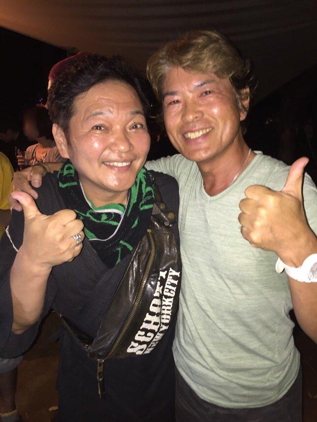 酔っ払いおじさん声優の二人(^_^) pic.twitter.com/YqsgvC5pbs