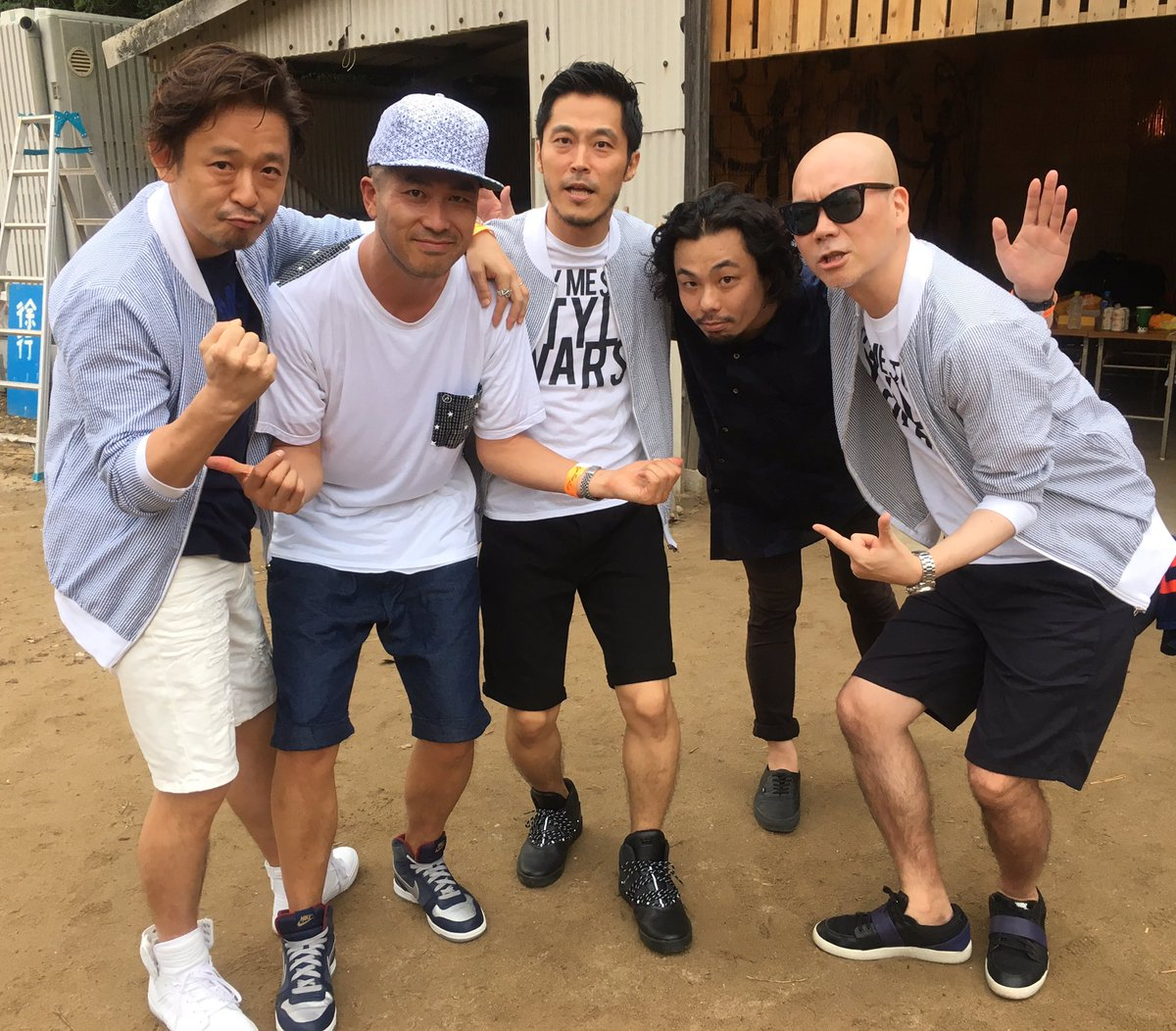 RHYMESTER × THA BLUE HERB。福岡サンセット・ライブ。 https://t.co/GtwgTQSHs3