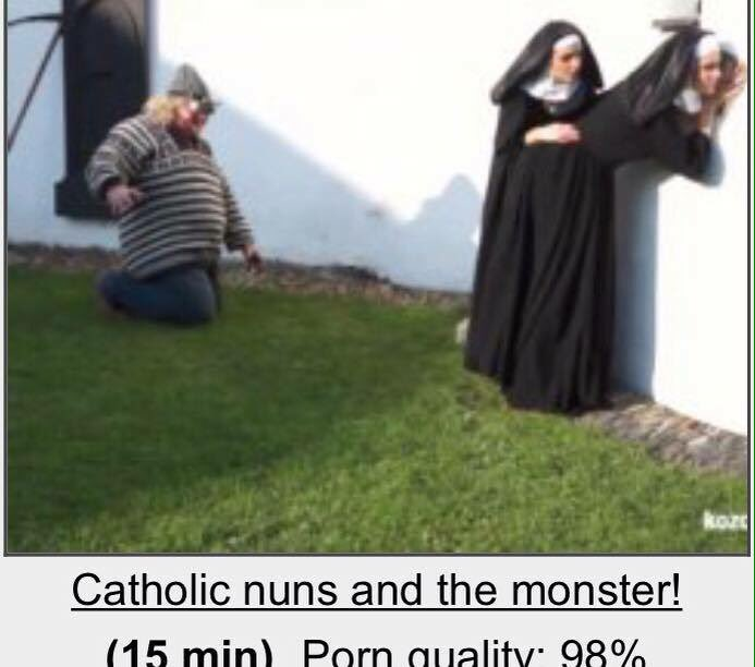 Images - Catholic nuns and the monster