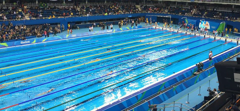 Estudo sugere exist ncia de corrente na piscina ol mpica for Piscina olimpica barcelona