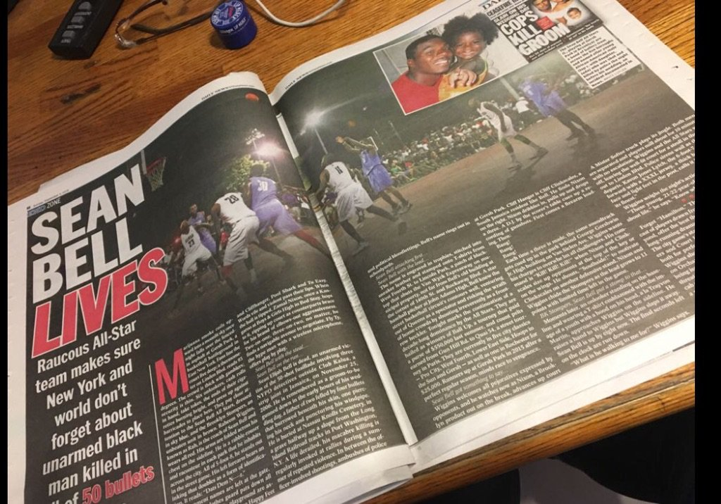 It's bigger then basketball.. go grab that Daily News today https://t.co/0kJvWK4H7j
