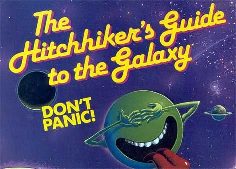 The Hitchhiker's Guide to the Galaxy - Magazine cover