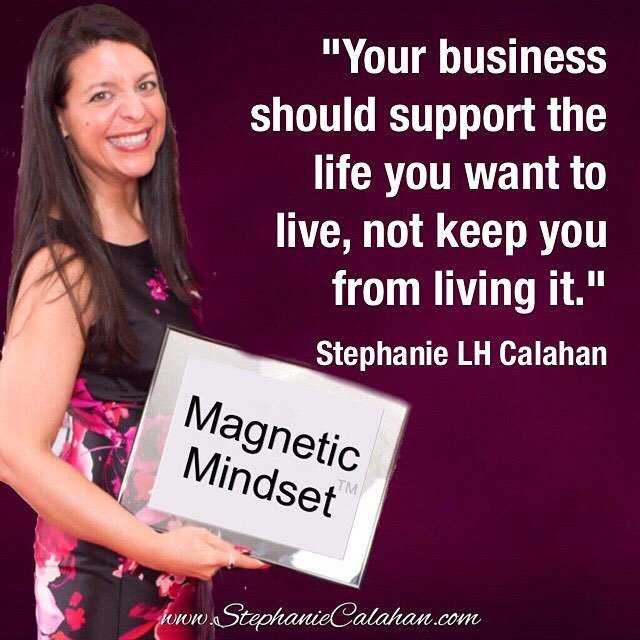 Your business should support the life you want to live, not keep you from living it. https://t.co/EC7cupDLU1 https://t.co/OzUxOLRx6Q