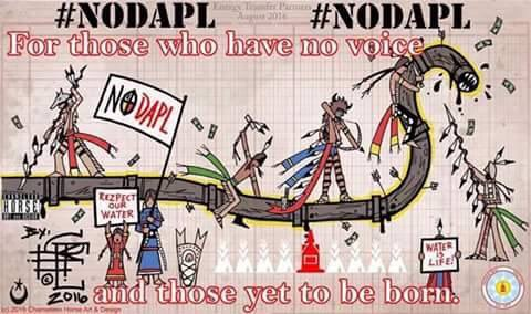 #StandWithStandingRock #NoDAPL #WaterIsLife https://t.co/rdLAxygRbd https://t.co/LcQBQxIX1L