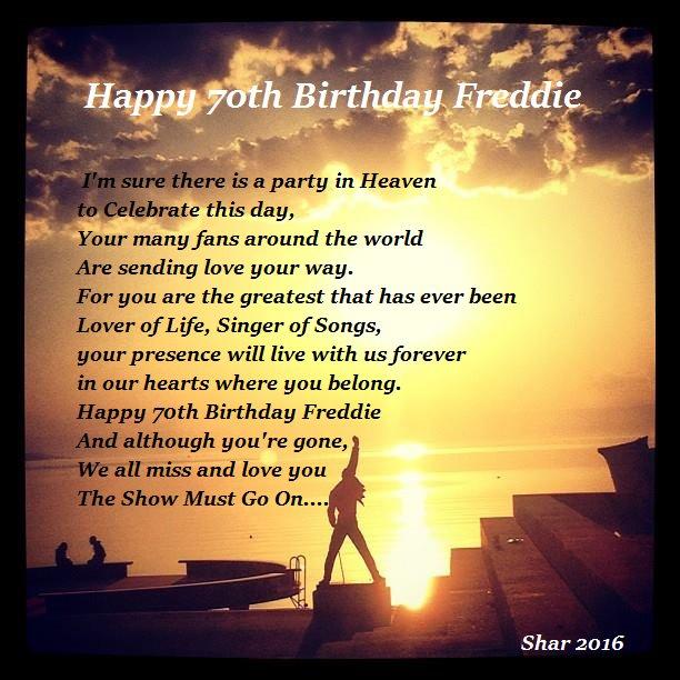 Freddie Mercury's Birthday Celebration