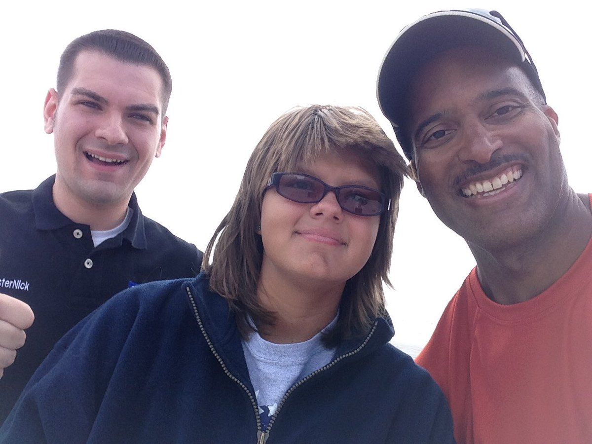 Paul Goodloe On Twitter So Nice To Meet Weathersammi And Noreasternick Herein Atlantic City Nj Hermine