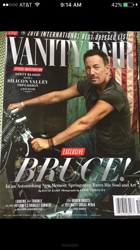 Here's the cover of the new Vanity Fair with Bruce Springsteen https://t.co/gY2FnkHTMZ