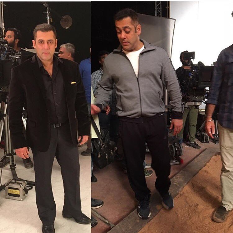 CrhkFDWWEAARVA5 - Salman Khan's look on Bigg Boss 10 revealed