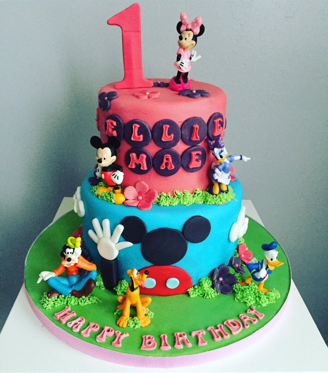 Adams Bakerycakes on Twitter Mickey Mouse clubhouse cake made to